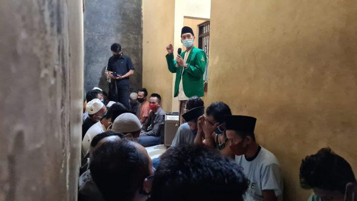 Sholawat Khas Rijalul Ansor Menggema di Ruang Warga Binaan Polres Sampang
