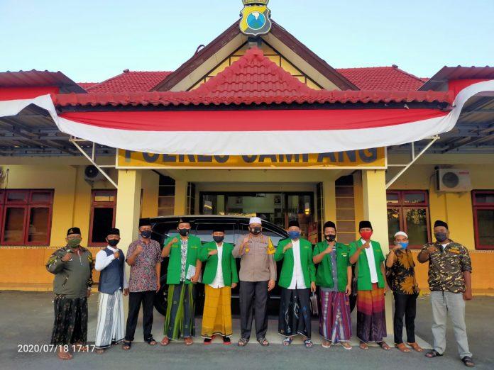 PC GP Ansor Sampang Silaturahmi ke Polres