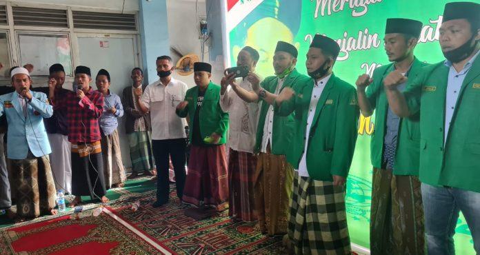 Warga Rusunawa Sidoarjo Sambut PC GP Ansor Sampang